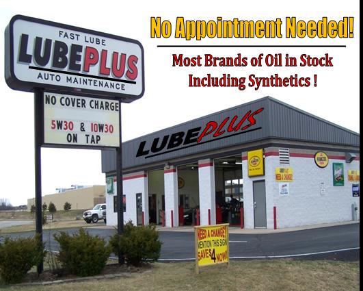 Jiffy Lube Transmission Flush >> LUBEPLUS | Fox Valley's Premier Fast Lube | Appleton WI